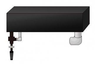 W1800�アロワナ水槽用 上部フィルター