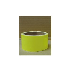 蛍光反射テープ(イエロー)