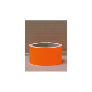 蛍光反射テープ(オレンジ)