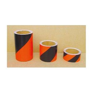反射トラテープオレンジ/黒