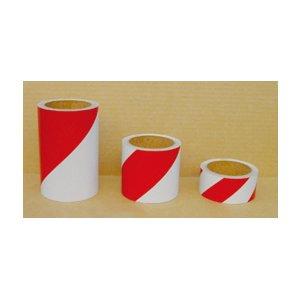 反射トラテープ白/赤