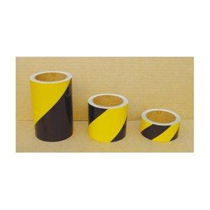反射トラテープ黄/黒