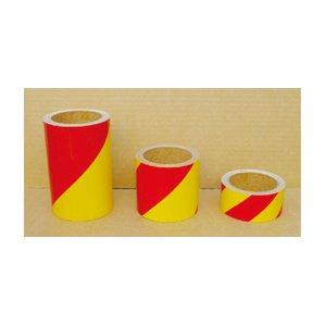 反射トラテープ黄/赤