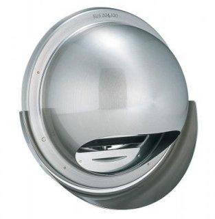 丸型フード水切り付換気口 防火ダンパー付 KBD-MVS