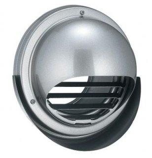 フード・ルーバー脱着式丸型フード水切り付換気口 KN-SMV2