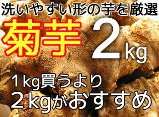 生の菊芋 2kg <神奈川県産>