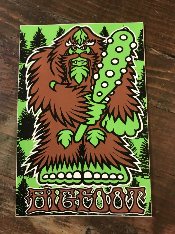 BIGFOOTONE ORIGINAL STICKER