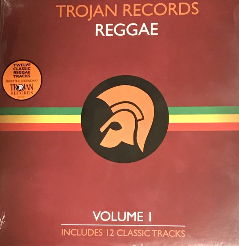 TROJAN RECORDS-REGGAE  LP