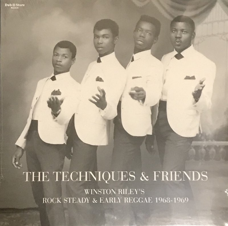THE TECHNIQUES &FRIENDS WINSTON RILEY'S ROCK STEADY&EARLY REGGAE 1968-1969