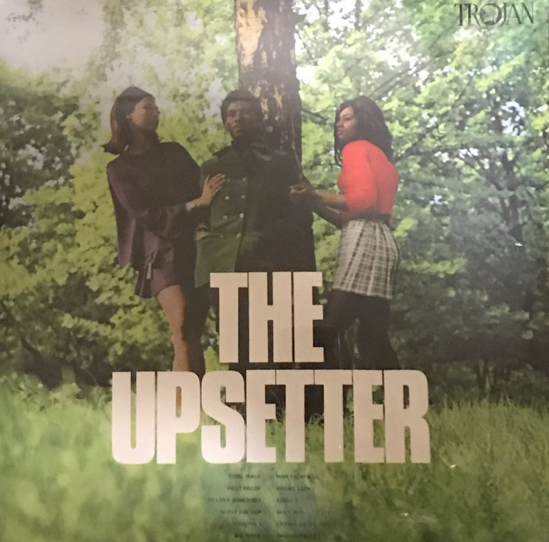 TROJAN UK- THE UPSETTER-LEE PERRY  LP