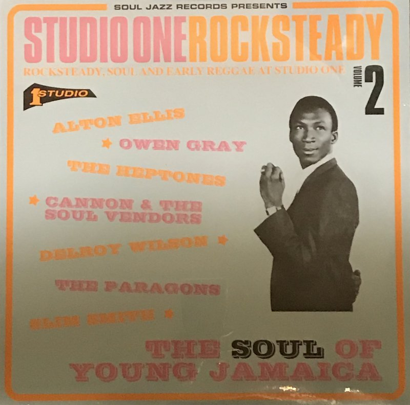 STUDIO ONE-ROCK STEADY VOLUME2     2LP