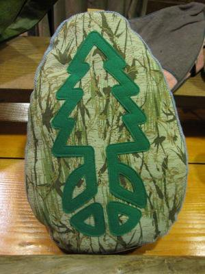 GO HEMP PEACE TREE PILLOW