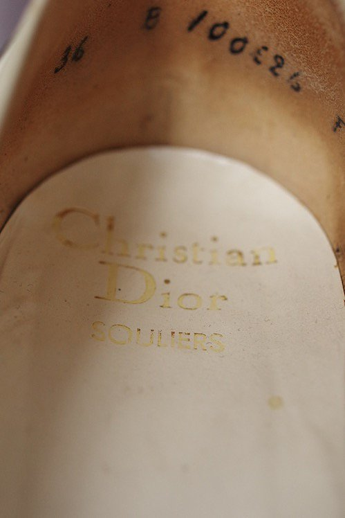 chaussures ヴィンテージ パンプス Christian Dior