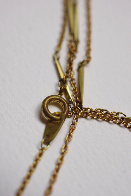 collier アンティーク ロケットペンダント 蹄鉄