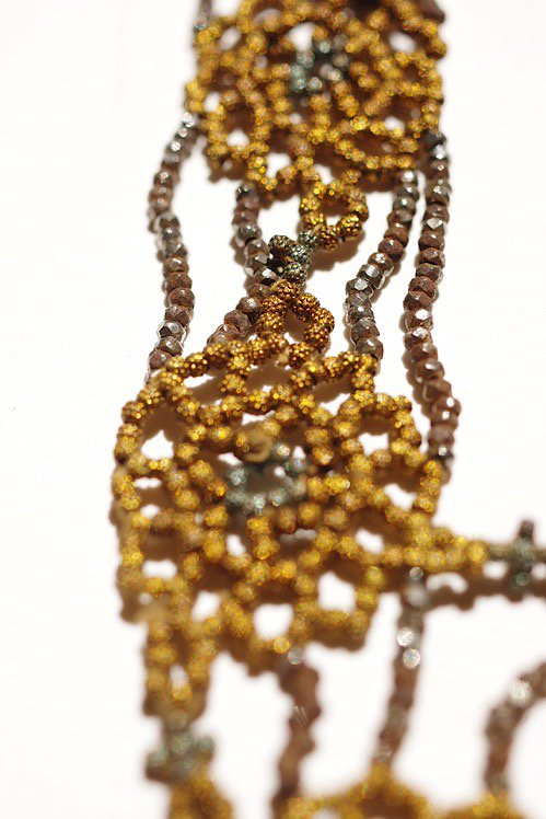 collier antique 20'S アンティーク ビーズネックレス