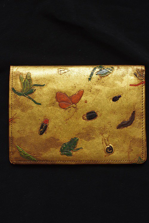 antique portefeuille アンティーク お財布 昆虫