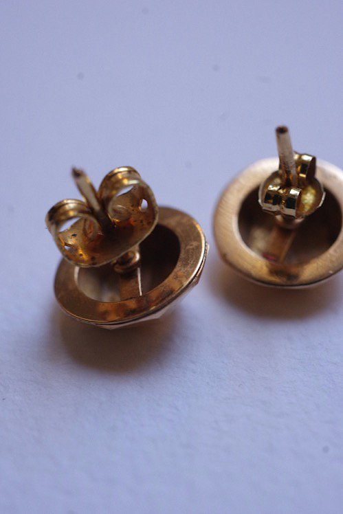 boules d'oreilles  ヴィンテージピアス