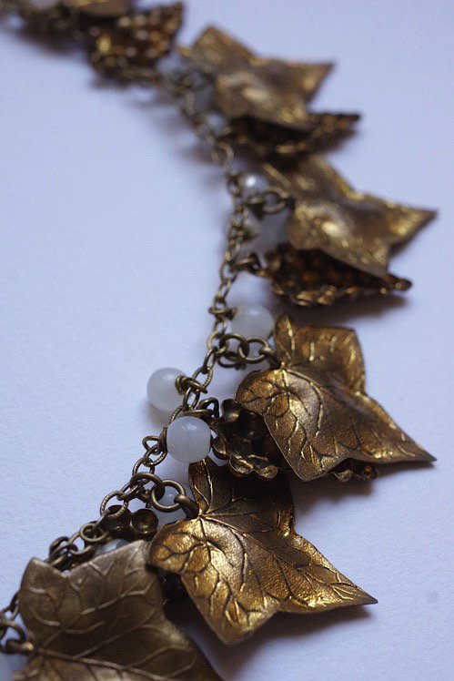 collier vintage ヴィンテージネックレス ぶどう