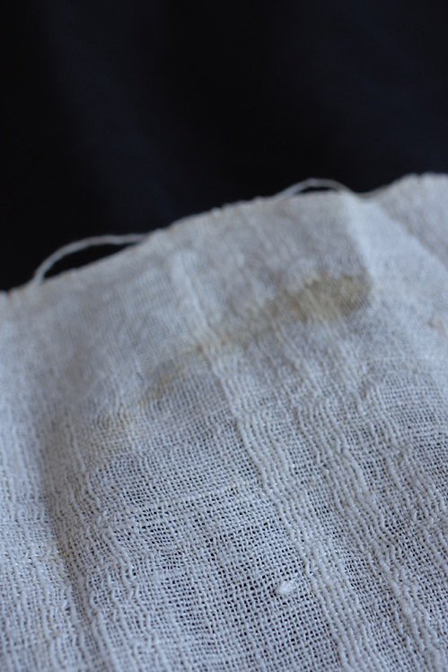 serviette brode antique アンティーク 刺繍 リネン オリエンタル 4
