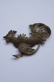 broche vintage ヴィンテージブローチ coq