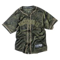 BackChannel バックチャンネル 【 GHOSTLION CAMO BASEBALL MESH SHIRT 】