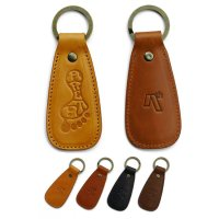 AREth アース 【 LEATHER SHOE HORN KEYRING 】