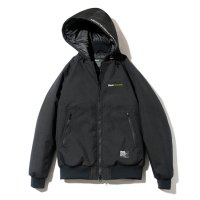 BackChannel バックチャンネル【 CORDURA HOODED JACKET BLACK 】