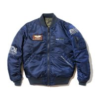 BackChannel バックチャンネル【 BACK CHANNEL × AVIREX MA-1 JACKET NAVY 】
