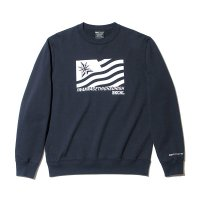 Back Channel バックチャンネル 【FLAG CREW SWEAT】<img class='new_mark_img2' src='//img.shop-pro.jp/img/new/icons6.gif' style='border:none;display:inline;margin:0px;padding:0px;width:auto;' />