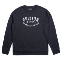 BRIXTON ブリクストン【GASKET CREW FLEECE】<img class='new_mark_img2' src='//img.shop-pro.jp/img/new/icons6.gif' style='border:none;display:inline;margin:0px;padding:0px;width:auto;' />