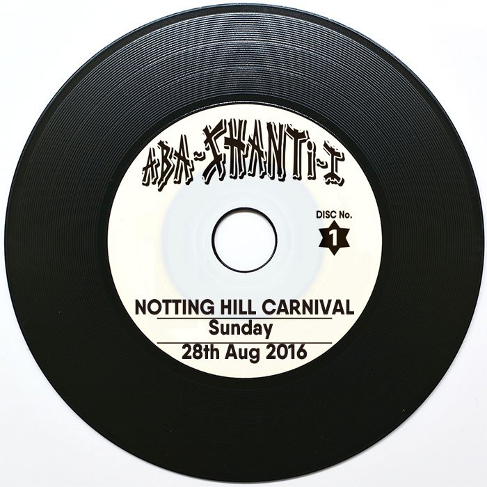 ABA SHANTI-I LIVE SESSION CD [NOTTING HILL CARNIVAL 2016 SUN ]<img class='new_mark_img2' src='//img.shop-pro.jp/img/new/icons6.gif' style='border:none;display:inline;margin:0px;padding:0px;width:auto;' />