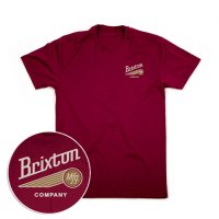 BRIXTON ブリクストン【MAVERICK TEE】<img class='new_mark_img2' src='//img.shop-pro.jp/img/new/icons6.gif' style='border:none;display:inline;margin:0px;padding:0px;width:auto;' />