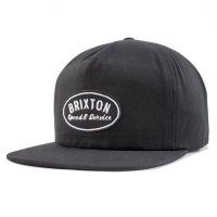 BRIXTON ブリクストン【MAGS HP SNAPBACK Black】<img class='new_mark_img2' src='//img.shop-pro.jp/img/new/icons6.gif' style='border:none;display:inline;margin:0px;padding:0px;width:auto;' />