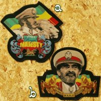 【IMPORT】 Iron-on patches Rasta_BIG SIZE H.I.M.