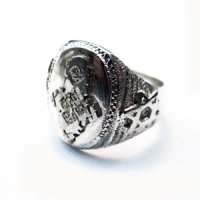 【Ethiopian Silver】Ethiopian Cross Ring