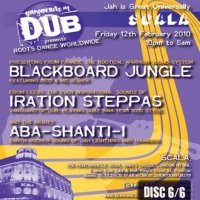 【ABA SHANTI-I】University of Dub 10' Feb [LIVE CD]