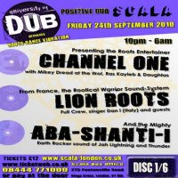 【ABA SHANTI-I】University of Dub 10' Sep [LIVE CD]
