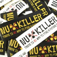 【StrictlyVIBES】NUKILLER STICKER【チャリティー】