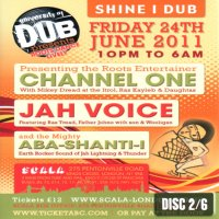 【ABA SHANTI-I】University of Dub 11' June [LIVE CD]
