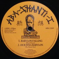 【ABA SHANTI-I】BLOOD SHANTI「BABYLON FALLING/RIGHTEOUS WAY」12inch