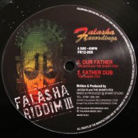 【FALASHA RECORDINGS】JACQUI B  -OUR FATHER /  SISTER MIRIAM  -ARMOUR YOURSELF 12inch