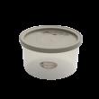 エンバランス鮮度保持容器丸型990ml ジニアルベージュ