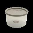 エンバランス鮮度保持容器丸型1600ml ジニアルベージュ
