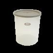 エンバランス 鮮度保持容器丸型4500ml ジニアルベージュ