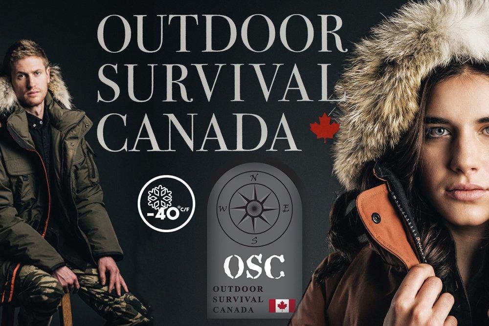 OUTDOOR SURVIVAL CANADA NYIK OS0113 DOWN JACKET