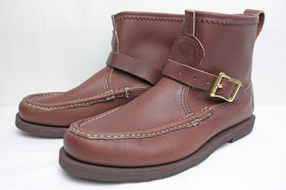 ★別注RUSSELL MOCCASIN / KNOCK-A-BOUT WITH BELTED(BROWN)