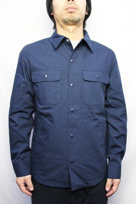 Fidelity cotton weather snap cpo shirt jacket for Fidelity cpo shirt jacket