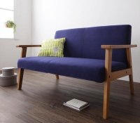 ワンルームに置ける!北欧デザイン木肘ソファ【Snug】スナッグ 1人掛けソファ