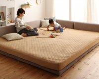 寝られる!遊べる!プレイスペースベッド【PLAYS】プレイズ 連結・家族ファミリーベッド
