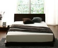 デザインパネルすのこベッド【RECTO-low】レクト・ロー シングルベッド